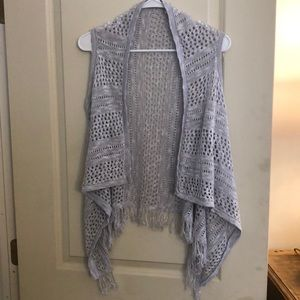 New Crochet Vest with Fringe